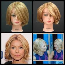 kelly ripa new bob haircut tutorial thesalonguy hair cuts