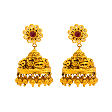 gold ear rings images gold earrings collections south indian earrings designs buy gold