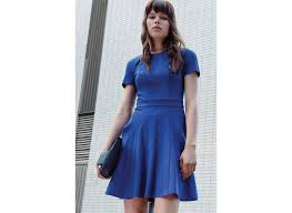 cue dress blue cue dress color dress style
