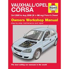 vauxhall opel corsa 1 0 1 2 1 4 petrol 1 3 1 7 diesel 00 06 haynes