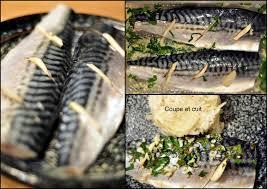 cuisiner le maquereau filets de maquereau marinés et riz au fenouil citronné coupe et cuit