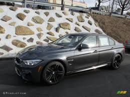 Bmw M3 2015 - 2015 mineral grey metallic bmw m3 sedan 100382371 photo 2