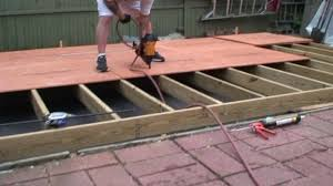 how to frame a floor building a shed part 2 floor joist framing