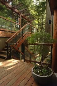Wooden Stairs Design Outdoor Exterior Staircase Design Ideas Staircase Contemporary With Wood