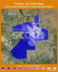 map of fresno fresno ca crime rates and statistics neighborhoodscout