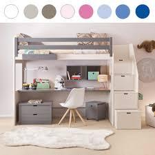 Schreibtisch St Le Asoral Hochbett Loft Xl Liso Mit Treppe Schreibtisch 4 Stauraum