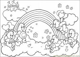 get this easy printable care bear coloring pages for children la4xx