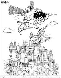 376 harry potter colouring images harry potter