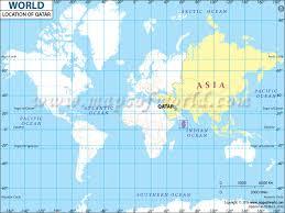 doha qatar map where is qatar qatar location in map