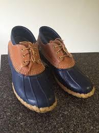 ll bean womens boots size 9 ll bean s l l bean rubber moc boots size 9