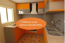 10 efficient ideas to remodel a small kitchen u2013 home and gardening
