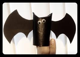 Halloween Bat Crafts by Halloween Flagermus Af Toiletrulle Hjemmelavet Crafts
