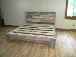 Distressed Wood Headboard by Collection In Reclaimed Wood Headboard King Reclaimed Wood