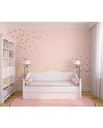 Spring Sale Metallic Gold Wall Decals Polka Dot Wall Sticker