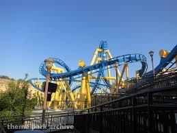 Goliath At Six Flags Goliath At Six Flags Fiesta Texas Theme Park Archive