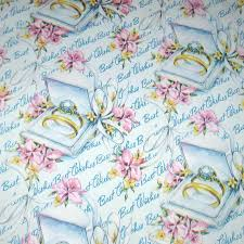 wedding wrapping paper vintage wedding wrapping paper or gift wrap with wedding rings