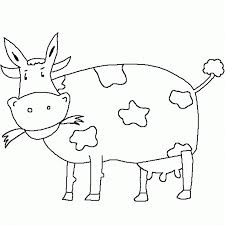 eating grass cow coloring pages animal coloring pages of
