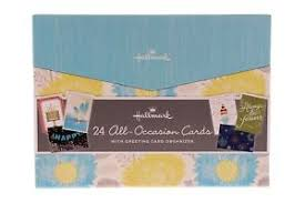 all occasion cards hallmark 24 all occasion cards with greeting card organizer