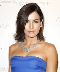 medium length flipped up hairstyles camilla belle young and fresh medium length hairstyle with layers