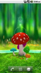 wallpaper 3d mushroom download amazing 3d mushroom garden for android amazing 3d mushroom