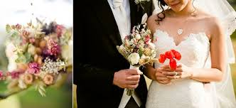 Wedding Flowers London Real Weddings Bride And Bridesmaids Creative Bouquets And Flowers