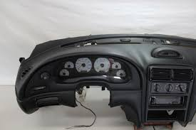 2002 Black Mustang Used 2002 Ford Mustang Dash Parts For Sale