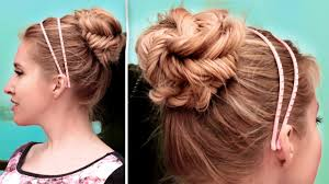 easy updo hairstyles fishtail braided updo hairstyle cute quick