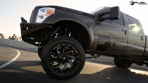 Ford F350 Truck Tires - four in the back with this f350 super duty with fuel wheels