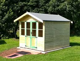 Summer Garden Houses - quality garden rooms north wales call megasheds 01745 591485