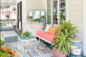 Painted Patio Pavers Cheap Comforter Sets In Porch Eclectic With Free Standing Patio