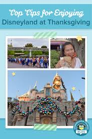top tips for managing disneyland at thanksgiving