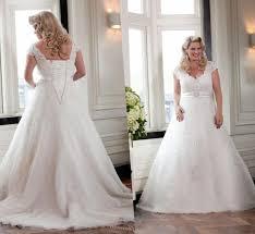 a line plus size wedding dresses pluslook eu collection