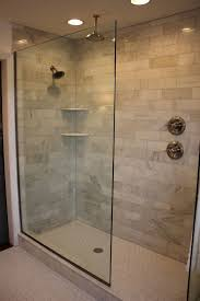 ideas for bathroom showers design of the doorless walk in shower bath showers and master