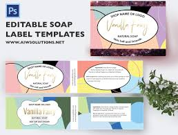 soap label template id21 aiwsolutions