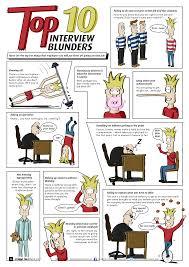 ten interview blunders