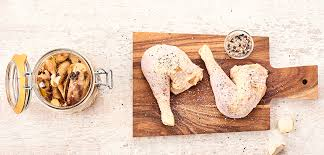 cuisiner poule recette conserve de poule le parfait