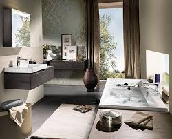 Gray And Brown Bathroom by Modern Bathroom Decor Zamp Co