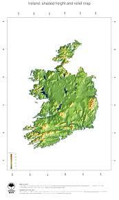map ireland ginkgomaps continent europe region ireland
