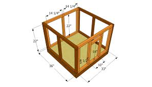 free a frame dog house plans