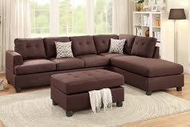 Sectional Couch With Ottoman by April Brown Fabric Sectional Sofa And Ottoman Steal A Sofa