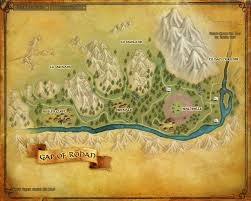 Lord Of The Rings World Map by Gap Of Rohan The One Wiki To Rule Them All Fandom Powered By Wikia