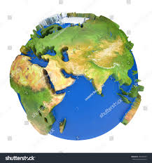 Europe World Map by Earth World Mapafrica Europe Azia On Stock Illustration 250168459