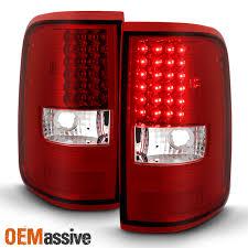 2004 f150 tail lights 2004 2005 2006 2007 2008 ford f150 f 150 lobo pickup red led tail