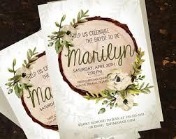 etsy wedding shower invitations bridal shower invite etsy