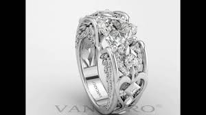 vancaro engagement rings vancaro sterling silver engagement ring heart cut lab created