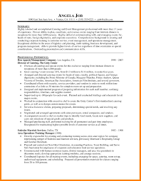 Childcare Resume Sample by Sample Event Manager Resume Free Resume Example And Writing Download