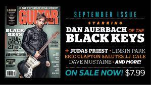 Hit The Floor Linkin Park - september 2014 guitar world the black keys u0027turn blue u0027 return of