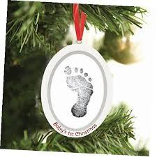 babyprints newborn baby handprint or footprint sided photo
