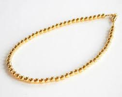 gold beads bracelet images Gold bead bracelet etsy jpg