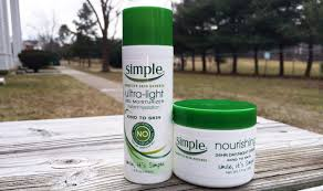 simple light moisturizer review simple moisturizers hairspray and highheels